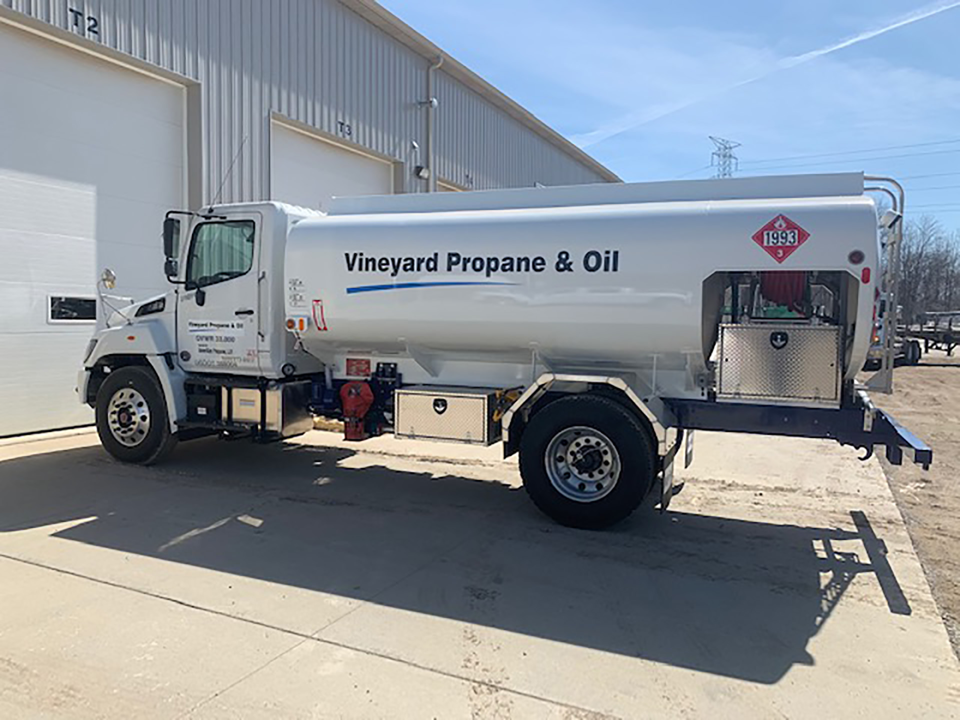 Propane Delivery Trailers in Clio, MI